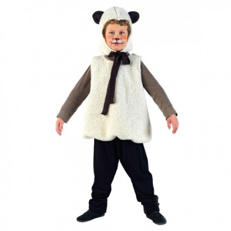 Disfraz de animalitos ovejita para niña - Imagen 1