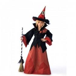Disfraz de bruja dacha para niña - Imagen 1