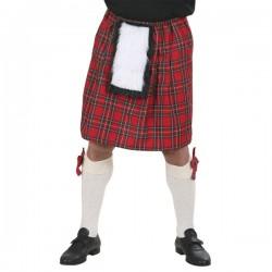 Falda escocesa para adulto - Imagen 1