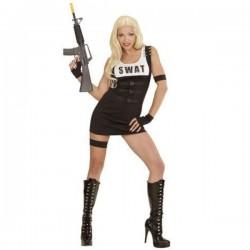 Disfraz de policía SWAT para mujer - Imagen 1