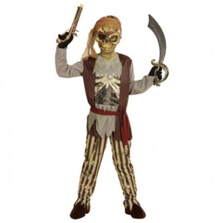Disfraz de pirata de los mares fantasma para niño - Imagen 1