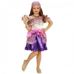 Disfraz de zíngara pitonisa para niña - Imagen 1