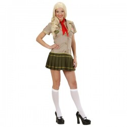 Disfraz de chica scout pícara - Imagen 1