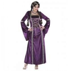 Disfraz de princesa medieval para mujer - Imagen 1