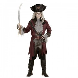 Disfraz de Capitán Spook para hombre talla grande - Imagen 1