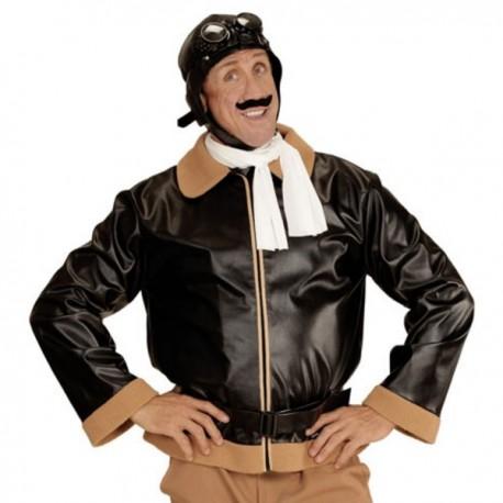 Disfraz de aviador retro para hombre - Imagen 1