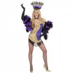 Disfraz de chica sexy Vegas - Imagen 1