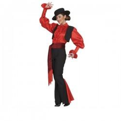 Disfraz de bailarina sevillana rumbera para mujer - Imagen 1