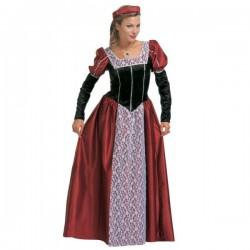 Disfraz de cortesana elegante para mujer talla extra grande - Imagen 1
