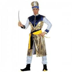 Disfraz de maharajá malévolo para hombre - Imagen 1