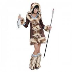 Disfraz de esquimal Aikaa para mujer - Imagen 1