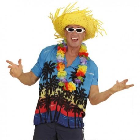 Camisa Hawaiana Palm Beach para hombre talla grande - Imagen 1