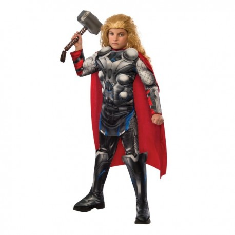 Disfraz de Thor Vengadores: La Era de Ultrón deluxe para niño - Imagen 1