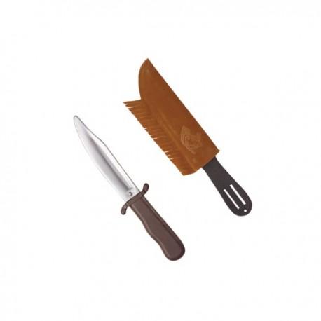 Cuchillo indio con funda - Imagen 1