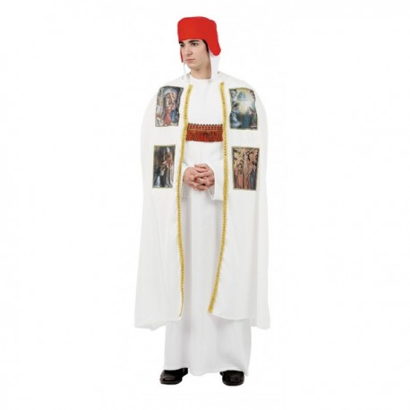 Disfraz de obispo medieval - Imagen 1