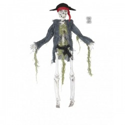 Esqueleto pirata colgante - Imagen 1