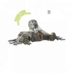 Esqueleto zombie rompesuelos - Imagen 1