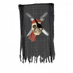 Cartel pirata con calavera y espadas - Imagen 1
