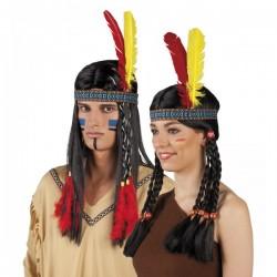 Tocado indio de la tribu unisex - Imagen 1