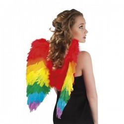 Alas de ángel arcoíris para mujer - Imagen 1