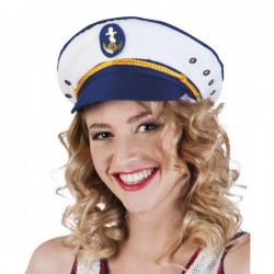 Sombrero de capitana Joyce para mujer - Imagen 1