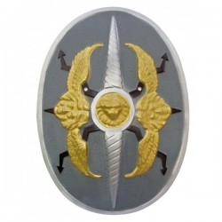 Escudo gladiador pvc - Imagen 1