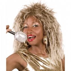 Peluca diva del rock para mujer - Imagen 1