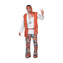 Disfraz de chico hippie - Imagen 1