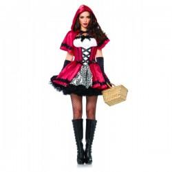 Disfraz de Caperucita encantadora para mujer - Imagen 1