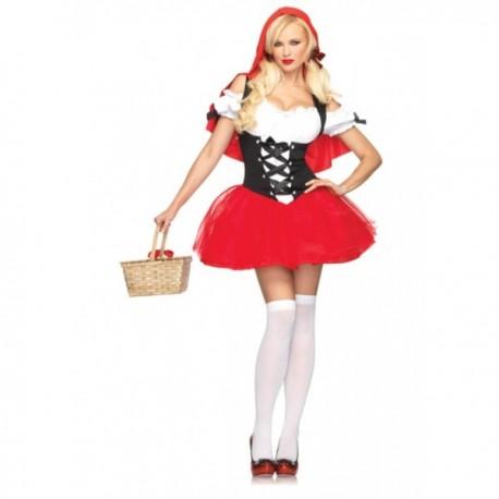 Disfraz de Caperucita roja sexy para mujer - Imagen 1