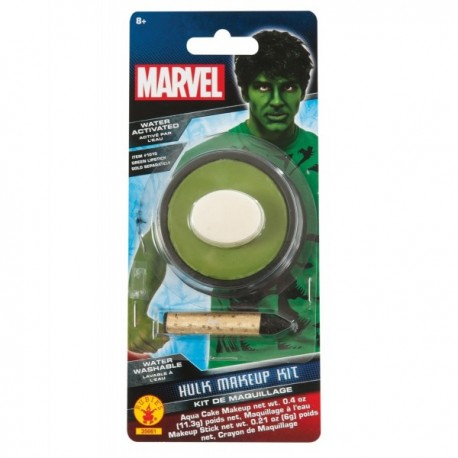 Pintura corporal Hulk Marvel para adulto - Imagen 1