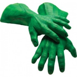 Guantes Hulk Marvel para adulto - Imagen 1