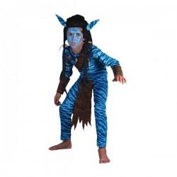 Disfraz de guerrero jungla niño - Imagen 1