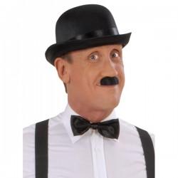 Bigote negro de Chaplin para hombre - Imagen 1