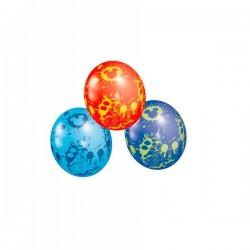 Set de 5 globos de látex de Mickey Mouse - Imagen 1