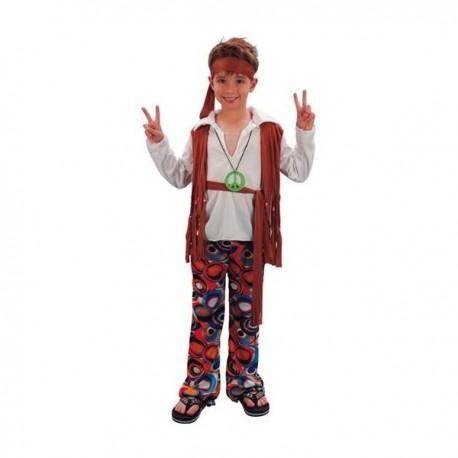 Disfraz de niño hippie - Imagen 1
