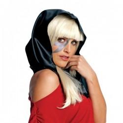 Pañuelo de cabeza negro Lady Gaga - Imagen 1