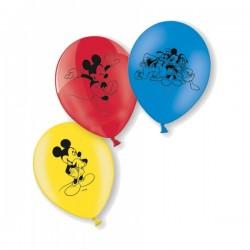 Set de 10 globos de Mickey Mouse - Imagen 2