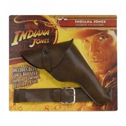 Pistola y cinturón Indiana Jones - Imagen 1