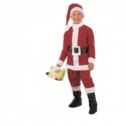 Disfraz de Papa Noel niño - Imagen 1