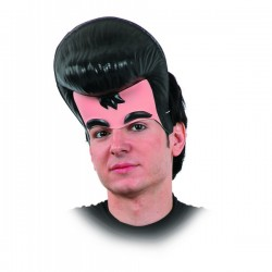 Careta de Elvis con tupé - Imagen 1