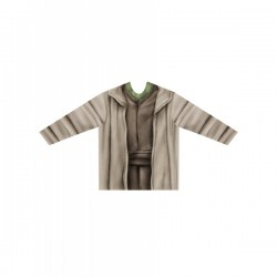 Camiseta hiperrealista de Yoda para adulto - Imagen 1