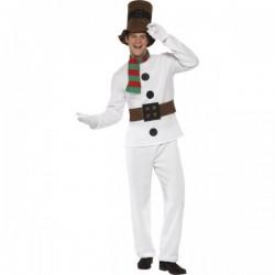 Disfraz de Muñeco de Nieve elegante - Imagen 1