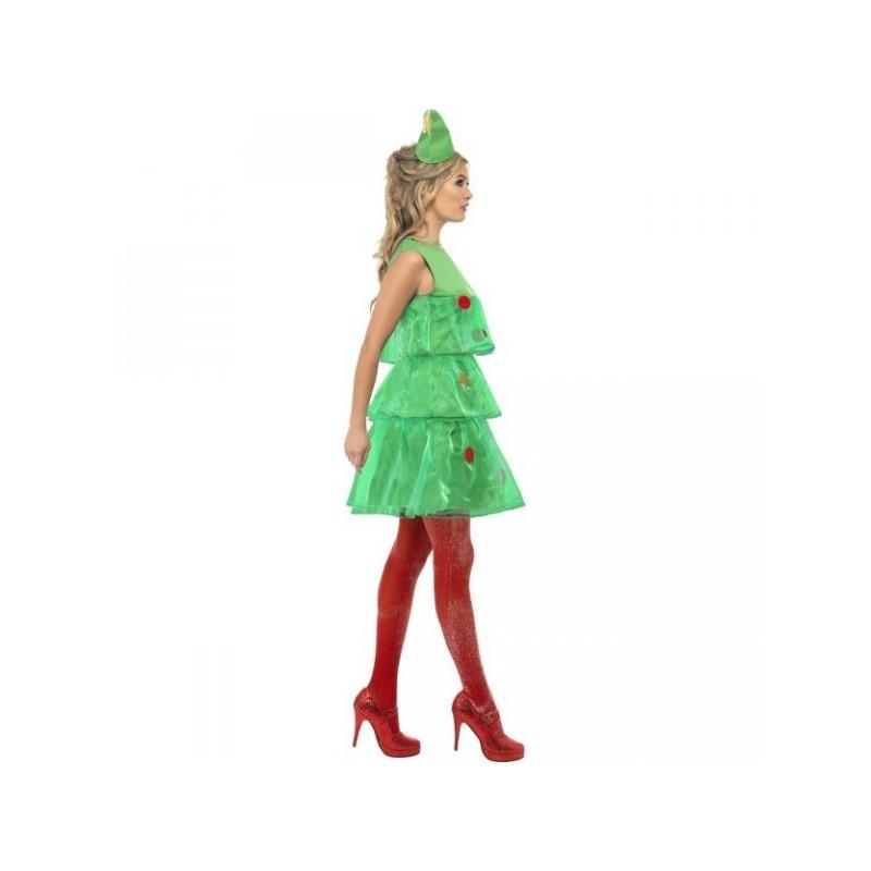 Disfraz de rbol de navidad para mujer comprar online - Disfraz de navidad ...