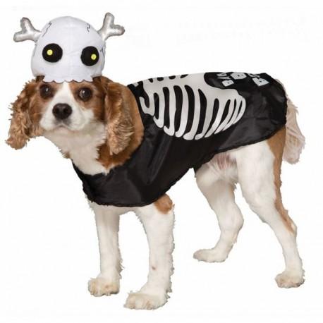 Disfraz de esqueleto para perro - Imagen 1