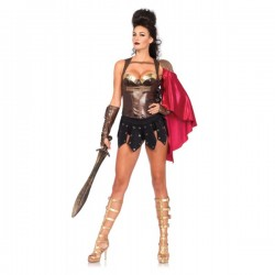 Corsé de guerrera para mujer - Imagen 1