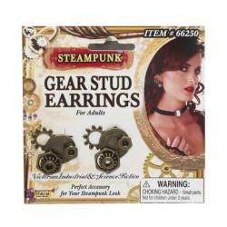 Pendientes de Steampunk para mujer - Imagen 2