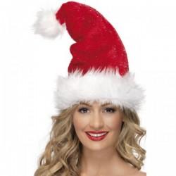 Gorro Papá Noel Deluxe - Imagen 1