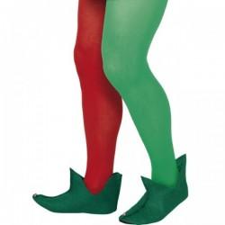 Botas Verdes de elfo - Imagen 1