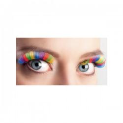 Pestañas multicolor para mujer - Imagen 2